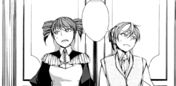 Allen y Chartette cansados (manga)
