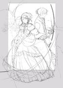 Riliane y Allen - Sketch (Ichika)
