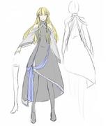 Arte Conceptual del Cuerpo Original de Elluka (Ichika)