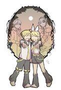 Riliane y Allen, Rin y Len (Aniversario)