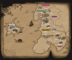 New evillious map