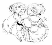 Riliane y Allen Chibis (Ichika)