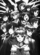 Personajes de la Historia del Mal (Retrouver of Silver)
