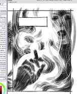 The Fade Out 1 panel work-in-progress