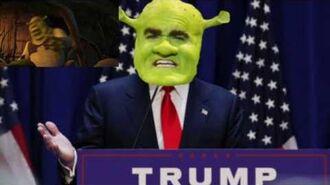 -YTP- Shrek Builds a Wall