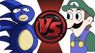 SANIC vs WEEGEE! Cartoon Fight Club Episode 16!!