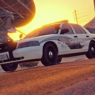 Old BCSO Ford Crown Victoria
