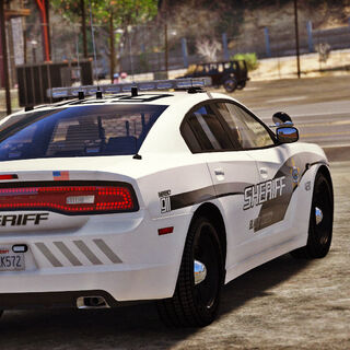Old BCSO Dodge Charger