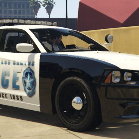 Old LSPD Dodge Charger