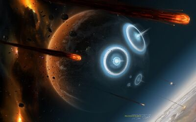 1920x1200 Cool 3D Planets for PC