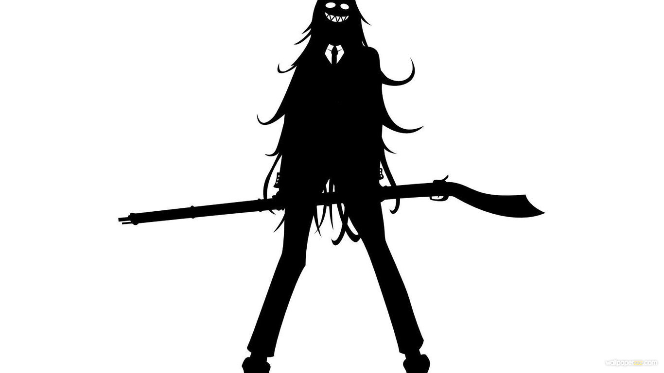 Image download hellsing silhouette hd anime wallpaper - Anime hellsing wallpaper ...