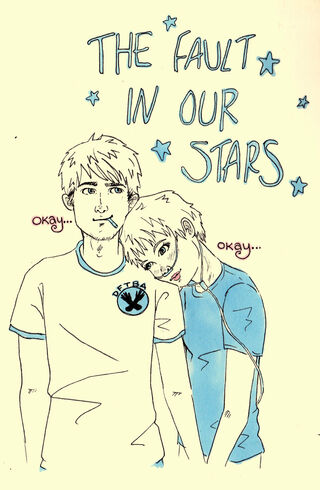 Oh the fault in our stars by pinkie perfect-d5v2e2q