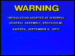 RCA-Columbia Pictures-Hoyts Video Piracy Warning (1985) Beta cassette