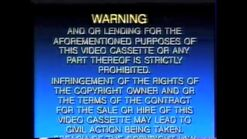 Dreamworks Warning 1997
