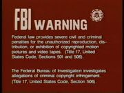 20th Century FOX FBI Warning Screen 1c