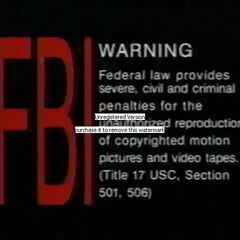 Brentwood Home Video (Warning 1)