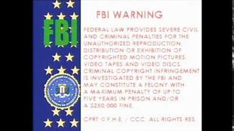 "Family Home Entertainment ""The USA Flag"" Warning Screen (1981-1982) (RECONSTRUCTION)"