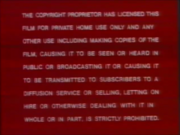 Magnetic Video UK Warning (1978)