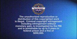 CTSP FBI Anti-Piracy Warning Screen 1