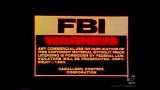 Monterey Home Video (1983, w Caballero Control FBI warning)