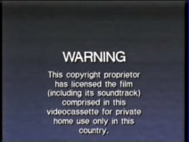 CIC Video AU Warning Screen 1995 A