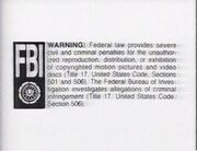 Turner FBI Warning Screen 1