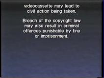 CIC Video AU Warning Screen 1995 C