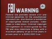 20th Century FOX FBI Warning Screen 2