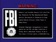Cannon Video FBI Warning
