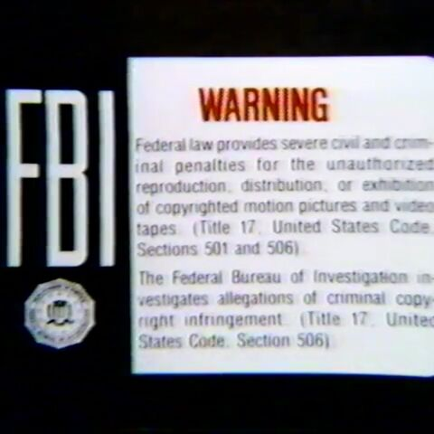 This is the MPI Home Video Warning Screen