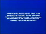 Buena Vista 1983 Warning Screen