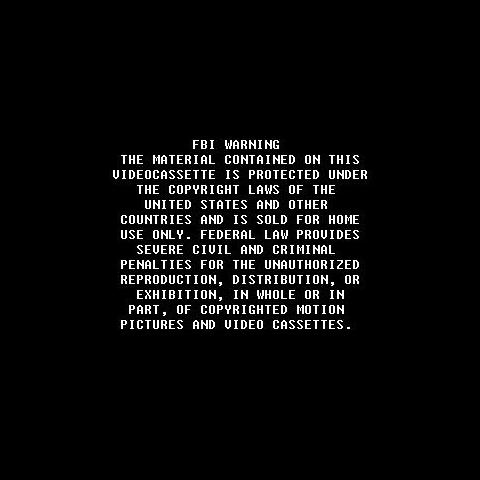 Cinema Group Home Video Warning Screen