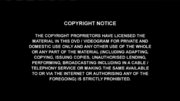 COPYRIGHT NOTICE ALTERNATIVE VARIANT 2