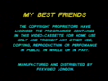 Fox Video UK Warning (1991) (My Best Friends)