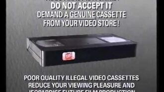 FOX Video fact Piracy (VHS CAPTURE)