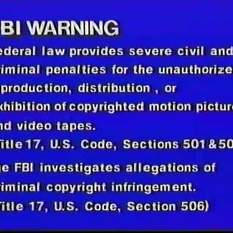 GoodTimes Warning Screen (1990)