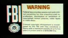 FBI Warning screen