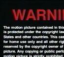 DreamWorks Home Entertainment Warning Screens