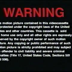 VHS version