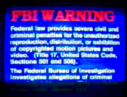Hanna-Barbera Home Video FBI Warning (Odd-Numbered)