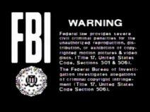 WHV 1983 laserdisc warning screen