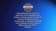 BVWD FBI Anti-Piracy Warning Screen