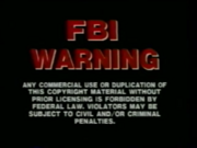 Celebrity Home Entertainment FBI Warning