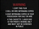 Columbia TriStar Home Video AU Warning (1992) (S2)