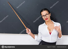 Depositphotos 177193872-stock-photo-young-seductive-teacher-pointing-chalkboard