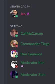 Dan staff member