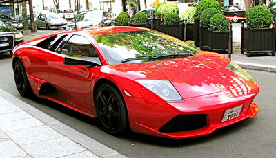 Cherry Red Murcielago