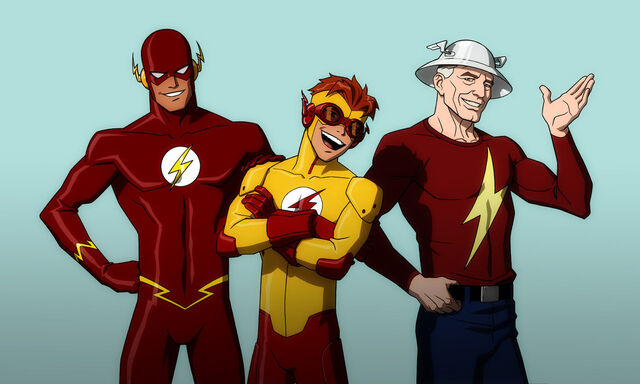 File:Young justice flash family by jerome k moore-d3axtg1.jpg