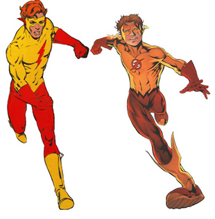 Kid flash vs kid flash