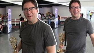 'The Daily Show' Writer Dan McCoy My Emmy Is My Carry On!